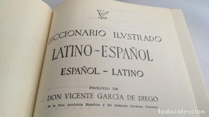 Diccionarios de segunda mano: DICCIONARIO LATINO ESPAÑOL ILUSTRADO -BIBLOGRAF 1964 - Foto 12 - 138920770