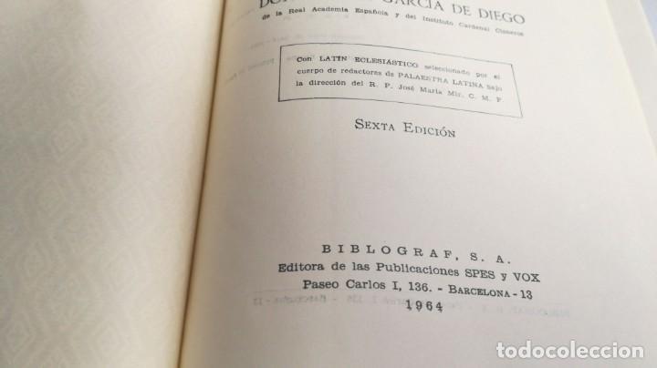 Diccionarios de segunda mano: DICCIONARIO LATINO ESPAÑOL ILUSTRADO -BIBLOGRAF 1964 - Foto 14 - 138920770