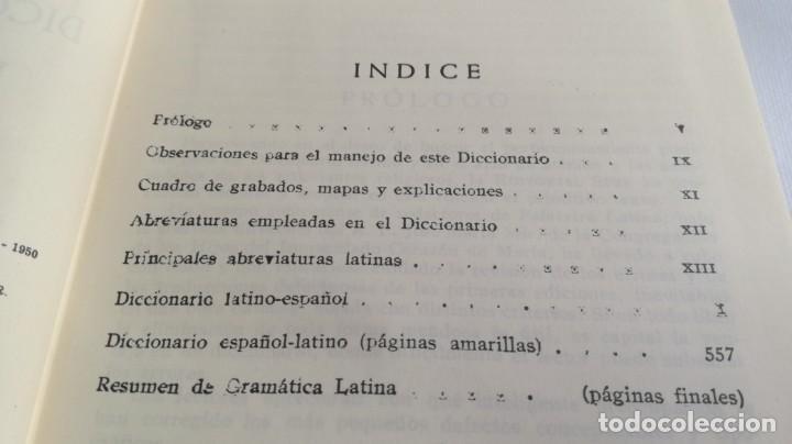 Diccionarios de segunda mano: DICCIONARIO LATINO ESPAÑOL ILUSTRADO -BIBLOGRAF 1964 - Foto 16 - 138920770
