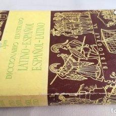 Diccionarios de segunda mano: DICCIONARIO LATINO ESPAÑOL ILUSTRADO -BIBLOGRAF 1968. Lote 138920814