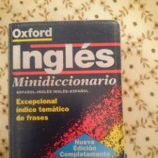 Diccionarios de segunda mano: MINIDICCIONARIO ESPAÑOL-INGLES INGLES-ESPAÑOL --REFM3E3. Lote 139233618