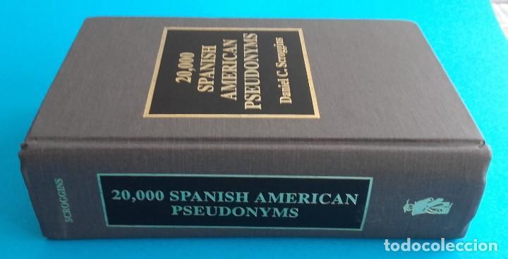 Diccionarios de segunda mano: 20.000 seudónimos hispano-americanos. 20,000 SPANISH AMERICAN PSEUDONYMS. 1997. 1033 pág. - Foto 6 - 140284342