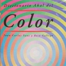 Diccionarios de segunda mano: DICCIONARIO AKAL DEL COLOR. (NUEVO). Lote 140331590