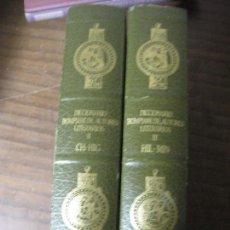 Diccionarios de segunda mano: DICCIONARIO BOMPIANI DE AUTORES LITERARIOS (II TOMOS). Lote 142514434