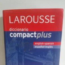 Diccionarios de segunda mano: DICCIONARIO COMPACT PLUS ENGLISH-SPANISH/ESPAÑOL-INGLÉS ENVIO CERTIFICADO INCLUIDO. Lote 142665746