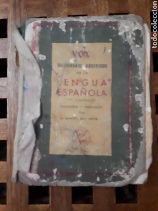 DICCIONARIO ABREVIADO DE LA LENGUA ESPAÑOLA VOX (Libros de Segunda Mano - Diccionarios)