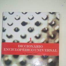 Diccionarios de segunda mano: DICCIONARIO ENCICLOPÉDICO UNIVERSAL ESPASA TOMO 1. Lote 143091917