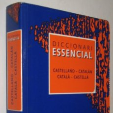 Diccionarios de segunda mano: DICCIONARI ESSENCIAL CASTELLANO-CATALAN CATALA-CASTELLA *. Lote 143742730