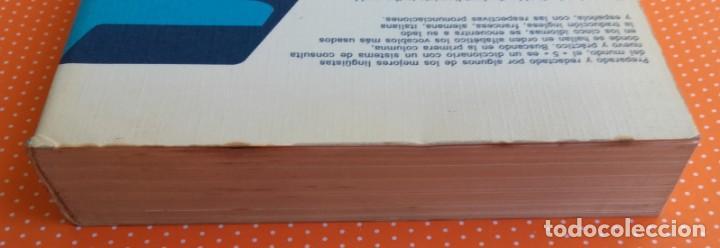Diccionarios de segunda mano: DICCIONARIO MULTILINGÜE AL-BORAK. 5 IDIOMAS CON PRONUNCIACIÓN. GIUSEPPE ALBERTO OREFICE. 1973. - Foto 7 - 145903278