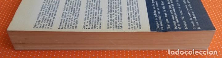 Diccionarios de segunda mano: DICCIONARIO MULTILINGÜE AL-BORAK. 5 IDIOMAS CON PRONUNCIACIÓN. GIUSEPPE ALBERTO OREFICE. 1973. - Foto 8 - 145903278