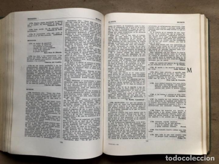 Diccionarios de segunda mano: DICCIONARIO DE SABIDURÍA (FRASES Y CONCEPTOS). TOMÁS BORRÁS Y FEDERICO CARLOS SAINZ DE ROBLES. AGUIL - Foto 9 - 207967292