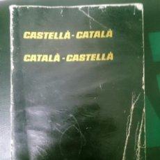 Diccionarios de segunda mano: DICCIONARI CASTELLA CATALA - CATALA CASTELLA -MAL ESTADO -AÑOS 80. Lote 146428402