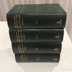 Diccionarios de segunda mano: DICCIONARIO CRITICO ETIMOLÓGICO DE LA LENGUA CASTELLANA COROMINAS COMPLETO AÑO 1976 ED GREDOS. Lote 135370478