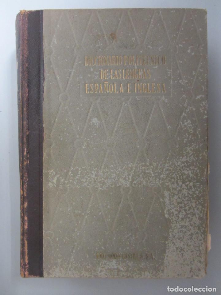 Diccionarios de segunda mano: Diccionario politécnico de las lenguas. Español-inglés inglés-español. 1ªEdición 1958. 2 tomos - Foto 3 - 146894426