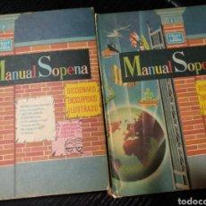 Diccionarios de segunda mano - Manual Sopena. Diccionario enciclopédico ilustrado - 147223724