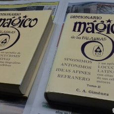 Libri di seconda mano: DICCIONARIO MAGICO. 2 TOMOS. Lote 147295701