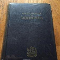 Diccionarios de segunda mano: DICCIONARIO DE SINOMIMOS SEIX EDITOR 22000 ARTICULOS AÑO 1944. Lote 147306298