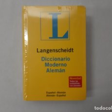 Diccionarios de segunda mano: LANGENSCHEIDT DICCIONARIO MODERNO ALEMAN - LANGENSCHEIDT-REDAKTION (BERLIN). Lote 147361252