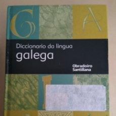 Diccionarios de segunda mano: DICCIONARIO DE LINGUA GALEGA/SANTILLANA. Lote 147486389