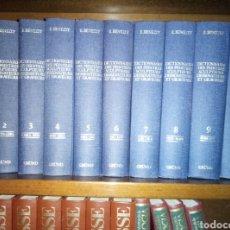 Diccionarios de segunda mano: E BENEZIT DICTIONNAIRE DES PEINTRES SCULPTEURS DESSINATEURS ET GRAVEURS 1976. Lote 147548978