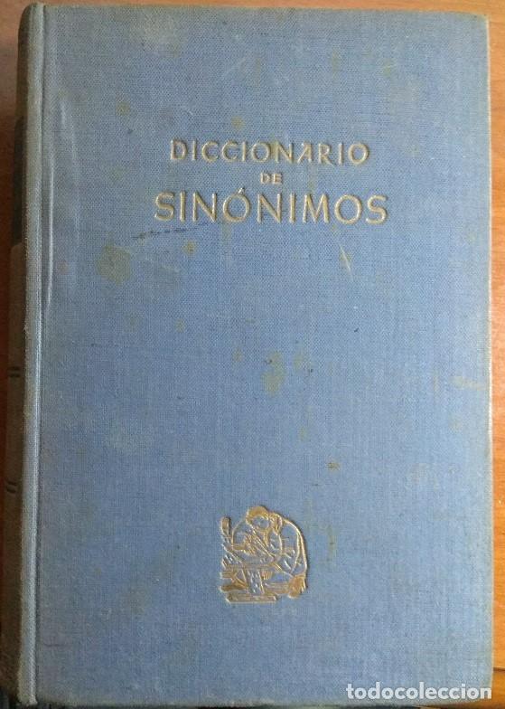 DICCIONARIO DE SINÓNIMOS - F. SEIX EDITOR - 1.944 (Libros de Segunda Mano - Diccionarios)