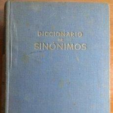 Diccionarios de segunda mano: DICCIONARIO DE SINÓNIMOS - F. SEIX EDITOR - 1.944. Lote 147963126