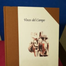 Diccionarios de segunda mano: VOCES DEL CAMPO - JOSÉ MARÍA BURGOS GIRALDO - JUNTA DE ANDALUCÍA, 2007. Lote 147963998