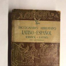 Diccionarios de segunda mano: DICCIONARIO ABREVIADO LATINO-ESPAÑOL, ESPAÑOL-LATINO (A.1944). Lote 148083704