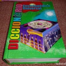 Diccionarios de segunda mano: DICCIONARIO ENCICLOPEDICO UNIVERSAL CULTURAL EDICIONES ISBN 84-8055-681-1 ESPAÑA TAPA DURA. Lote 148144286