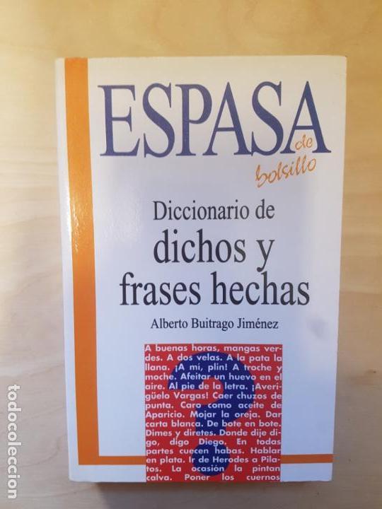 Diccionario De Dichos Y Frases Hechas Espasa B Kaufen