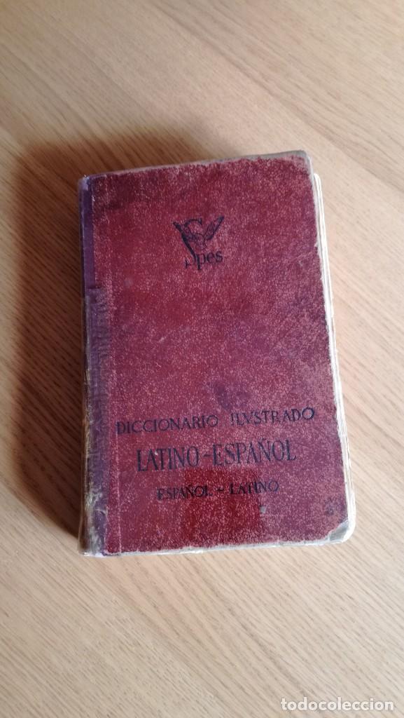 DICCIONARIO ILUSTRADO LATINO-ESPAÑOL ESPAÑOL-LATINO SPES (Libros de Segunda Mano - Diccionarios)