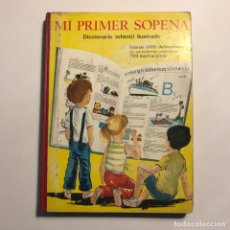 Diccionarios de segunda mano: 1968 MI PRIMER SOPENA. DICCIONARIO INFANTIL ILUSTRADO . Lote 149525134