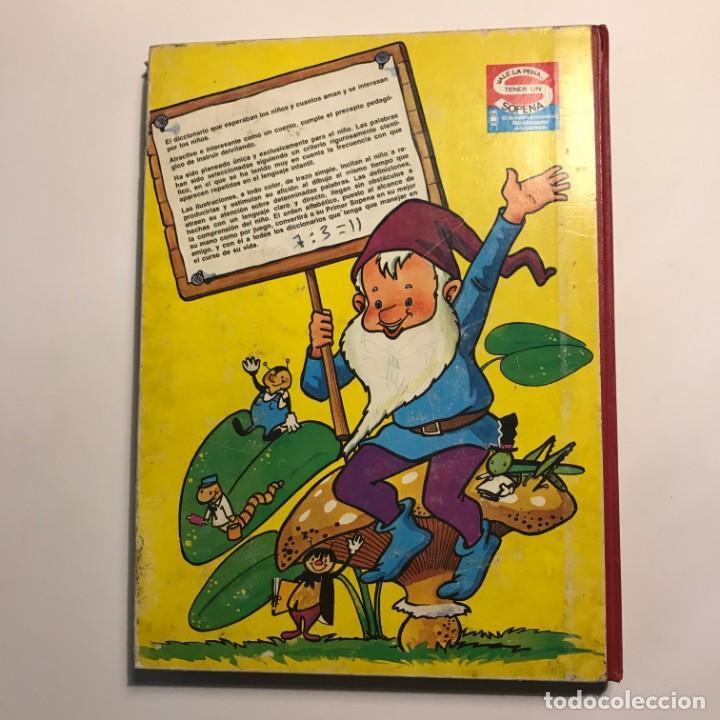 Diccionarios de segunda mano: 1968 Mi primer sopena. diccionario infantil ilustrado - Foto 6 - 149525134