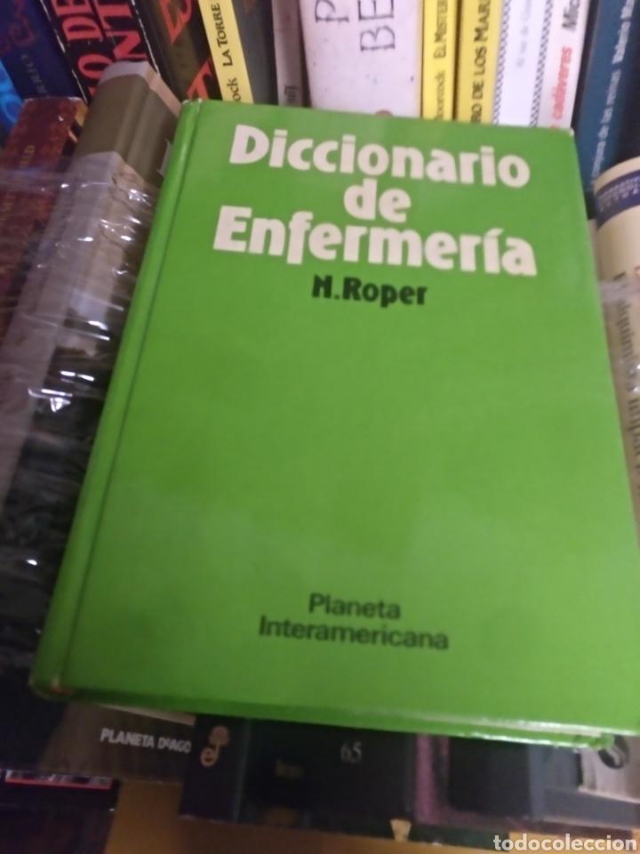 DICCIONARIO DE ENFERMERÍA N. ROPER (Libros de Segunda Mano - Diccionarios)