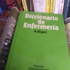 Diccionarios de segunda mano: DICCIONARIO DE ENFERMERÍA N. ROPER. Lote 149626556