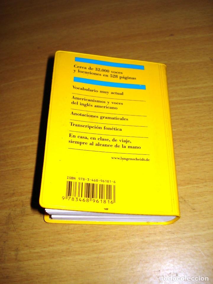 Diccionarios de segunda mano: LANGENSCHEIDT DICCIONARIO BOLSILLO INGLÉS-ESPAÑOL. ED. LANGENSCHEIDT KG (AÑO 1997) - Foto 7 - 151113726