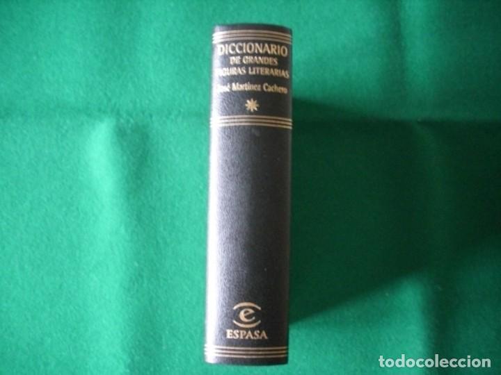 Diccionarios de segunda mano: DICCIONARIO DE GRANDES FIGURAS LITERARIAS - JOSÉ MARTÍNEZ CACHERO - ESPASA - AÑO 1998 - SIN USAR - Foto 3 - 151152986