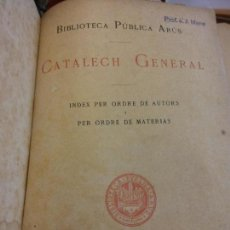 Diccionarios de segunda mano: BJS.CATALECH GENERAL.EDT, BARCELONA..BRUMART TU LIBRERIA.. Lote 151399486