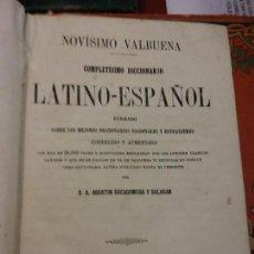 Diccionarios de segunda mano: BJS.DICCIONARIO LATINO-ESPAÑOL.EDT,BARCELONA.BRUMART TU LIBRERIA.. Lote 151400178