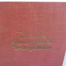 Diccionarios de segunda mano: BJS.DICCIONARIO ALEMAN -ESPAÑOL DE MEDICINA.EDT, ALHAMBRA.BRUMART TU LIBRERIA.. Lote 151400790