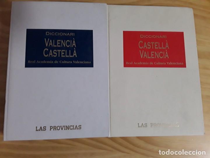 DICCIONARI CASTELLA- VALENCIA,DICCTIONARI VALENCIA-CASTELLA,LAS PROVINCIAS (Libros de Segunda Mano - Diccionarios)