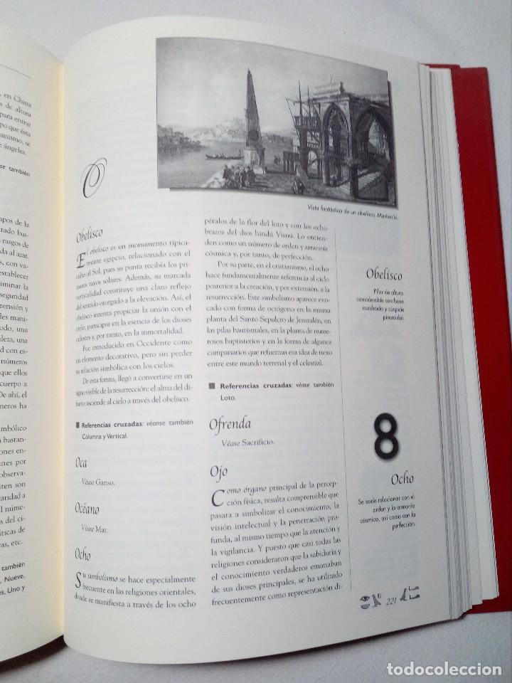 Diccionarios de segunda mano: DICCIONARIO DE SÍMBOLOS DE ALFONSO SERRANO SIMARRO Y ÁLVARO PASCUAL CHENEL - Foto 8 - 151426914