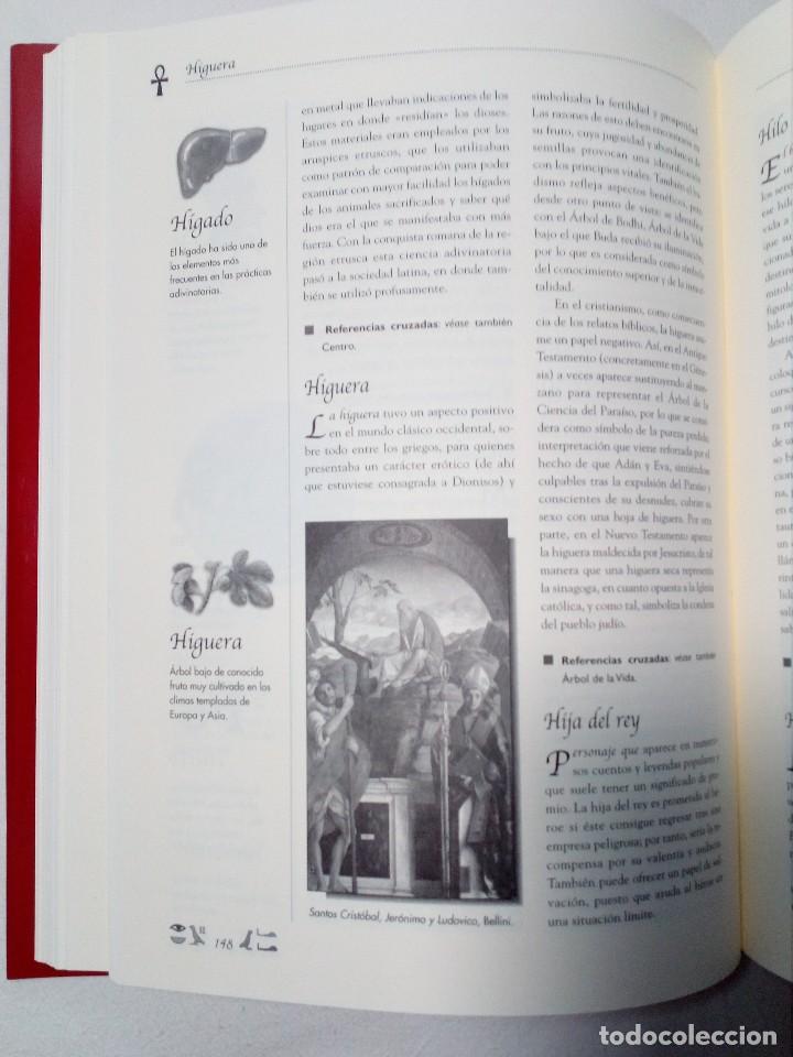 Diccionarios de segunda mano: DICCIONARIO DE SÍMBOLOS DE ALFONSO SERRANO SIMARRO Y ÁLVARO PASCUAL CHENEL - Foto 9 - 151426914