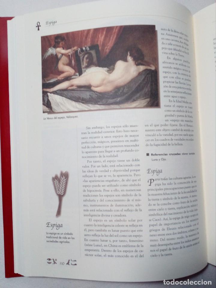 Diccionarios de segunda mano: DICCIONARIO DE SÍMBOLOS DE ALFONSO SERRANO SIMARRO Y ÁLVARO PASCUAL CHENEL - Foto 10 - 151426914