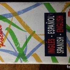 Diccionarios de segunda mano: DICCIONARIO DE USO POCKET, INGLES ESPAÑOL, SPANISH ENGLISH. Lote 151445498