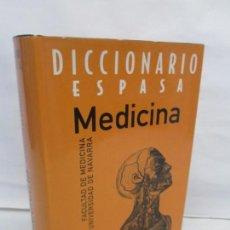 Diccionarios de segunda mano: DICCIONARIO ESPASA. MEDICINA. FACULTAD DE MEDICINA UNIVERSIDAD DE NAVARRA. 1999. Lote 151478386
