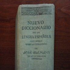 Diccionarios de segunda mano: NUEVO DICCIONARIO DE LA LENGUA ESPAÑOLA. JOSÉ ALEMANY Y BOLUFER. SOPENA. 1939. Lote 151991970