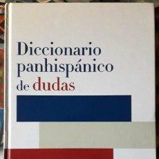 Diccionarios de segunda mano: DICCIONARIO PANHISPÁNICO DE DUDAS. Lote 152005170