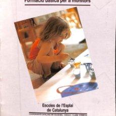 Diccionarios de segunda mano: EDUCAR EN L'ESPLAI (CATALÁN).. Lote 152168846