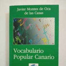 Diccionarios de segunda mano: VOCABULARIO POPULAR CANARIO. Lote 152439570